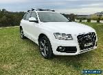 2013 Audi Q5 8R TFSI Wagon 5dr Tiptronic 8sp quattro 2.0T [MY13] White A Wagon for Sale